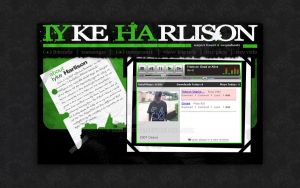 Iyke Harlison MySpace Layout by Somonette