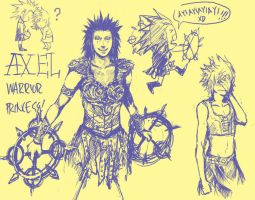 Axel: Warrior Princess? by arrancar