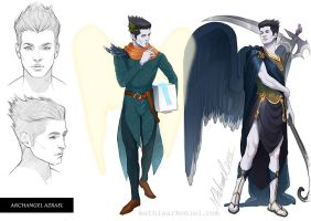 original: Archangel Azrael by MathiaArkoniel