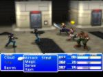 FF7 Shinra reception battle. by phischphood