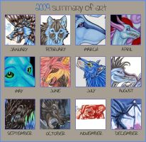 2009 Art Summary by Thunderflight