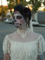 the bride, sugar skull by theFATpirate