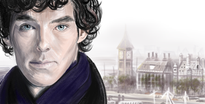 Sherlock by laracremon