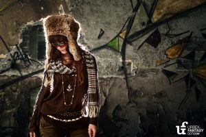 polish fur hat by urbex-fantasy