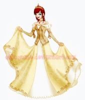 Disney Princesses-Kairi Gold. by ShouYume