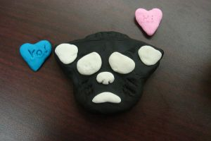 Emo the Cat playdough style by MysticEden