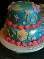 Two tier mother's day by simplysweets