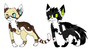 Kitties for sale by Larkflame