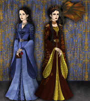 Morgana: where she's come to by SingerofIceandFire