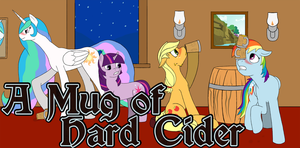 Com - A Mug of Hard Cider Cover by PenStrokePony