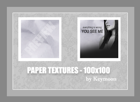 Paper Textures -100x100 by KeyMoon