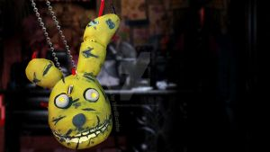FNAF Spring Trap Necklace Tutorial by NerdEcrafter