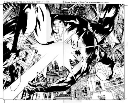 spider-man the list pgs 11-12 by MarkMorales