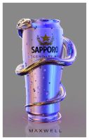 SAPPORO CAN by WXKO