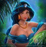 Portrait of Jasmine. NSFW optional. by Prywinko