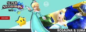 Super Smash Bros. For Wii U/3DS - Rosalina FBCover by egallardo26