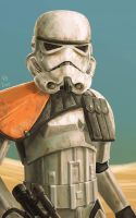 Sandtrooper by Robert-Shane
