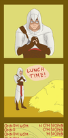 Lunchtime by LilayM