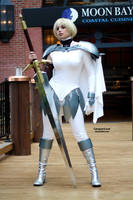 Clare the Claymore by EnchantedCupcake