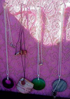Pendent Necklaces by DeathcupcakeX3