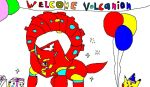 Welcoming Volcanion by Dinzydragon
