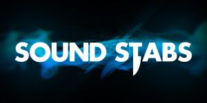 Sound stabs logo by TRAEMORE