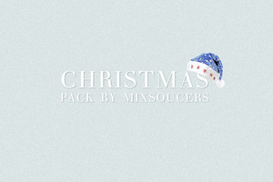Christmas Pack By Mixsoucers by crhizs