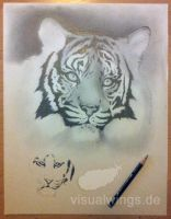 Unfinished - Tiger by visualwings