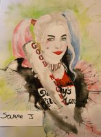 Harley Quinn, suicide squad by sanne-jacobs