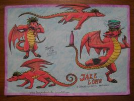 Jake Long, The American Dragon by laryssadesenhista