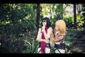 [SnK Cosplay] It's Nothing Without Eren by ShinigamiNeko92
