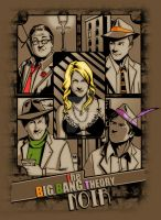The big bang teory Noir by Calamityele
