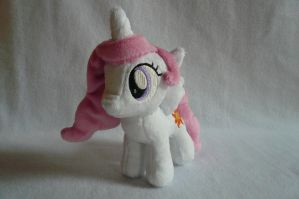Filly Princess Celestia Plush by navkaze
