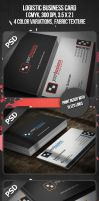 Logistic Business Card by VadimSoloviev