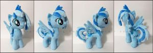 Plushie: Indigo Sky - My Little Pony: FiM by Serenity-Sama
