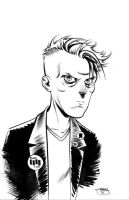 Heroes Con Sketch, Quentin Quire by Inkpulp