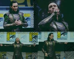 Wallpaper: Loki ComicCon 2013 by TheLastUnicorn1985