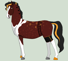 WSA Golden Alexander by CrazyWhiteArabian
