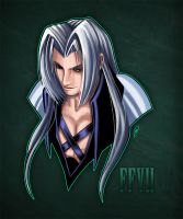 FFVII Sephy by NataneEklund