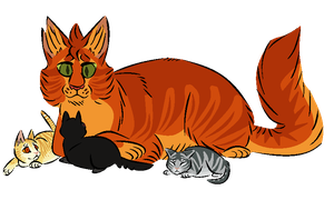squirrelflight's kits by Skelos-kath