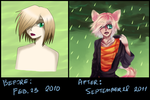Before and after by Eblagh