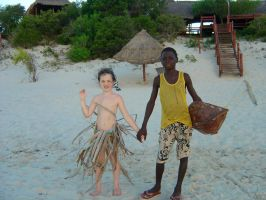 Me and African boy by sferchik