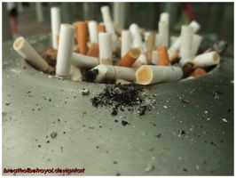 Ashes From Cigarettes. by breathofbetrayal