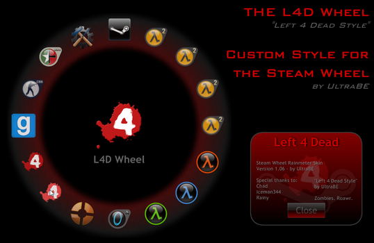 The L4D Wheel - Style by UltraBE