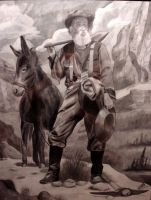 Prospector and Mule by Skihaas1