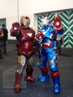 Iron Man and Iron Patriot by Old-Trenchy