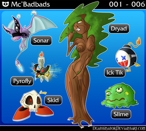 New Project: Mc'Badbads 1-6