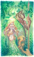 Forest Spirits by drachenmagier