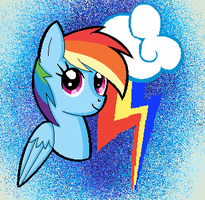 Rainbow Dash by N0RWHY