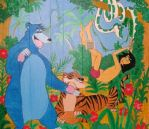Jungle Book - Mural by RamonaH